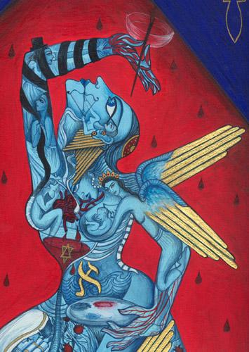 Siona Benjamin art